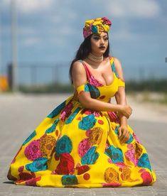 Ankara Gown Styles, Latest Ankara Styles, Ankara Gowns, All Fashion, Fashion Wear, Fashion Outfits, Aso Ebi Dresses, African Traditional Wear, Beautiful Ankara Styles