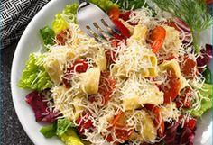 Tortellini Pepperoni Salad :: Moms-Diner.com #recipes #moms #salad