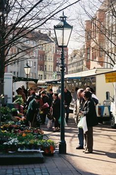 Wochenmarkt auf dem Lindener Markt