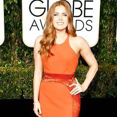❤ RED CARPET GODDESS ❤ #goldenglobes #golong #redhead #redcarpet #losangeles #amyadams #sundayfunday #nbc #gorgeousgirl