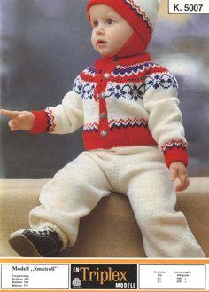 Småtroll k 5007 Norwegian Knitting, Baby Barn, Knitting For Kids, Little Ones, Scandinavian, Knitting Patterns, Children, Sweaters, Young Children