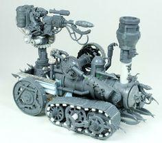 Skaven Doomwheel Conversion
