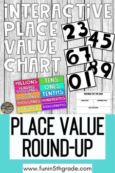 Back to school 2020 is filled with uncertainty! Are you an upper elementary teacher looking for place value resources? Here is a round up of great resources to use to introduce, teach and review place value. Find some great place value charts, games and more to simply your math instruction!Some of you will be going back in the classroom & some of you will be virtual teachers- either way I have rounded up some of resources to help you be the best teacher you can this year!