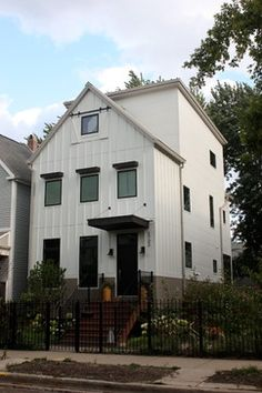 Urban Farmhouse Exterior Design Ideas, Pictures, Remodel and Decor