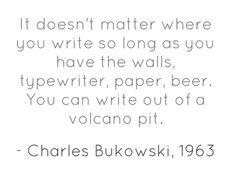 Charles Bukowski's 1st interview, Chicago Literary Times, 1963
