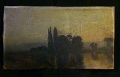 L.LUARD XIXs école Anglaise HUILE sur toile marouflée sur carton BIRCHMORE BOARD
