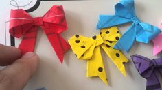 Youtube Shop: Origami Bows and Resin Jewelry for sale! (Please see description)
