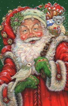 Santa --- Christmas By Donna Race