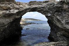 Donoussa island Cyclades Kalotaritissa: the bridge Athens Greece, Greek Islands, More Photos, Bridges, Water, Outdoor, Beautiful, Greek Isles, Gripe Water