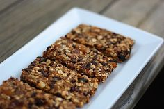 Afternoon Snack: Sugar-Free Fruit & Nut Bars