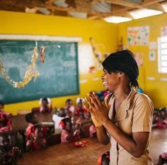 """It only takes one teacher to change a child's life forever. Every child deserves that chance. #EducationforAll #TeacherAppreciationDay  """"One child, one teacher, one book and one pen can change the world."""" —Malala Reposted Via @newstorycharity"""