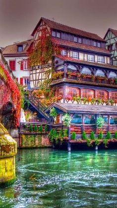 Alsace ,Strasbourg , France