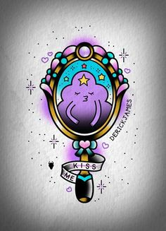 Adventure Time flash tattoo