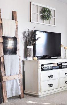 15 Beautiful Modern Farmhouse Living Room Decor Ideas