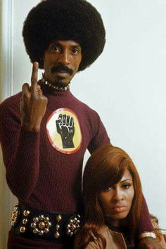 Ike and Tina Turner...
