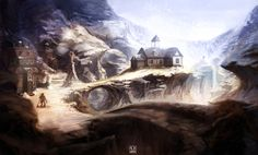 Dungeons and Dragons: environment test by carloscara on DeviantArt