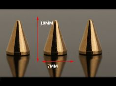 wholesale cone spikes  is good  for Bag, Bracelet ,Cloth ,Shoes ,Punk Bangle,leathercrafting, Punk Jackets, Belts,etc