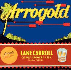 Arrogold Citrus Fruits. #crateart