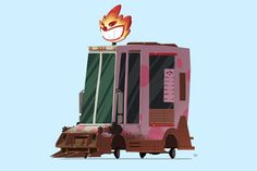 Sweet Tooth's Ice Cream Truck – Twisted Metal