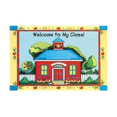 Teacher Created Resources TCR1198 Schoolhouse Welcome 30Pk Postcards 4X6