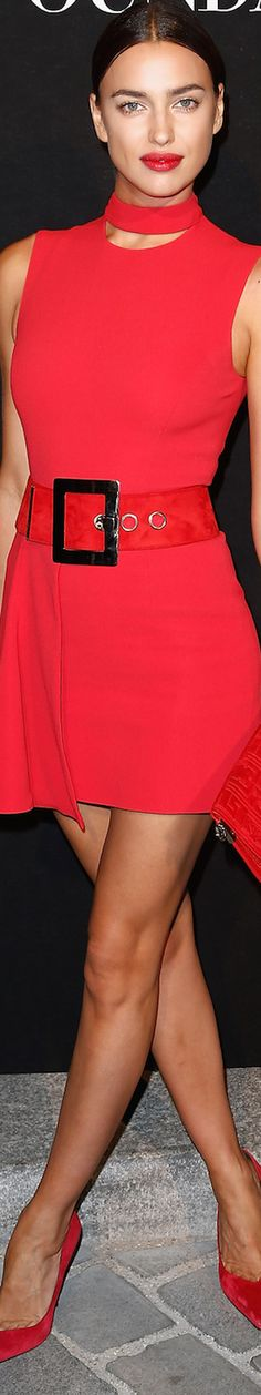 Irina Shayk Paris Fashion Week Fall 2015 Couture