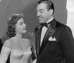 Jean Peters & Cesar Romero