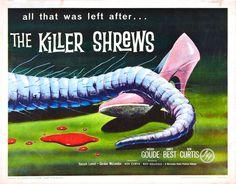 The Killer Shrews movie poster (1959)