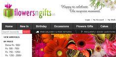 FlowersnGifts.in developed by MercuryMinds Technologies, X-Cart Design & X-Cart Development