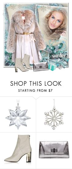 """""""Winter"""" by sella103 ❤ liked on Polyvore featuring VILA, Swarovski, Pier 1 Imports, Topshop and Diane Von Furstenberg"""