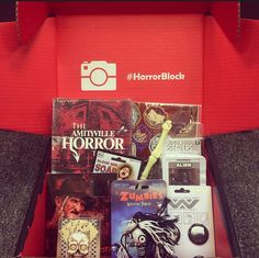 Win this fun filled #HorrorBlock! You must FOLLOW us on Pinterest, LIKE this image and PIN this image with your shirt size to win! Winner will be announced on December 16. Large