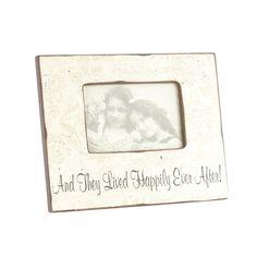 Heaven Sends Wood 'Happily Ever After' photo frame- at Debenhams.com