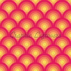 Pink And Yellow Seamless Geometric Pattern (Vec...