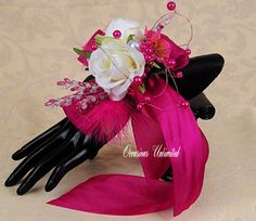 Prom Corsage  corsage   bling corsage dance by OccasionsonaBudget