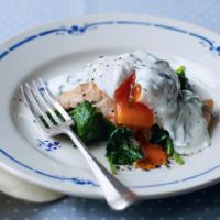 rainbow trout with red chili and pecans recipe dishmaps rainbow trout ...
