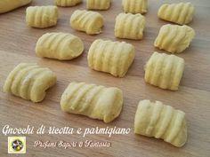 Gnocchi di ricotta e parmigiano ricetta base  Blog profumi Sapori & Fantasia