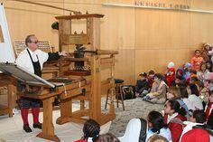 Franklin printing press by Franklin & Marshall College, via Flickr