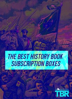 We've rounded up a list of history book subscription boxes and services so that you can find the perfect box that will help you dive into the past with an amazing book.  #history #books #reading