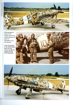 "The beautiful, fast and fierce Macchi MC 202 ""Folgore"" Italian Air Force, Italian Army, Ww2 Aircraft, Military Aircraft, Luftwaffe, Ww2 Pictures, Ww2 Planes, Military Modelling, Vintage Airplanes"