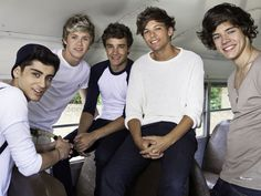 Zayn Malik, Niall Horan, Liam Payne, Louis Tomlinson e Harry Styles, do One Direction (Foto: Divulgação/T4F)