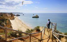 De la playa de Dona Ana a la del Barril, un recorrido para tomar el sol y relajarse al sur de Portugal