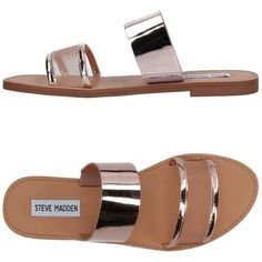 Steve Madden Women Sandals on YOOX. The best online selection of Sandals Steve Madden. YOOX exclusive items of Italian and international designers - Secure payments Cute Shoes Flats, Shoes Flats Sandals, Slipper Sandals, Pink Shoes, Shoe Boots, Flat Sandals, Pink Sandals, Shoes Uk, Flat Shoes