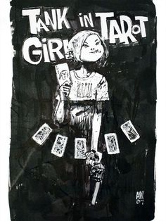Tank Girl in Tarot by Ashley Wood