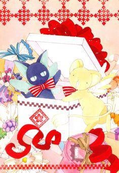 Keroberos and Spinel Sun from the CLAMP series, Cardcaptor Sakura Kero Sakura, Cardcaptor Sakura, Spinel Sun, Saiunkoku Monogatari, Xxxholic, Card Captor, Syaoran, Clear Card, Manga Games