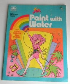 Jem and the Holograms Paint with Water by LaughingHorseWandV. Loved paint with water! 90s Childhood, My Childhood Memories, Great Memories, School Memories, Vintage Magazine, Jem And The Holograms, Remember The Time, 80s Kids, My Memory