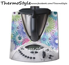 WHAT IS A THERMOSTYLE DECAL? ThermoStyle decals are quality removable vinyl adhesives that stick to your Thermomix, allowing you to customise your Thermi to suit your Individual Style! ThermoStyle decals are DESIGNED & MADE right here, in AUSTRALIA! As well as making your Thermi look great, ThermoStyle decals protect the surface of your Thermomix from light scratches. Image of Pastel Fleur