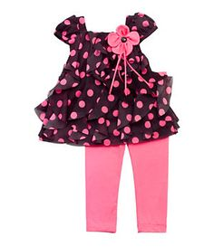 Rare Editions Infant Dotted 2-Piece Set | Dillard's Mobile