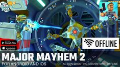 Major Mayhem 2: Action Shooter Gameplay for Android and iOS | Offline | Gamesoda - YouTube Free Mobile Games, Iron Man Avengers, Google Play, Ios, Android, Action, Adventure, Youtube, Group Action
