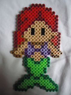 Ariel perler bead by *PerlerHime on deviantART
