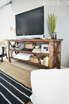 5 Easy DIY Ways to Build a TV Stand