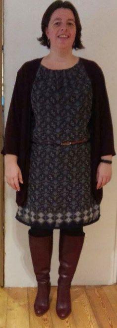 Een prachtig jurkje gemaakt met stofje van Stoff.be te Puurs.